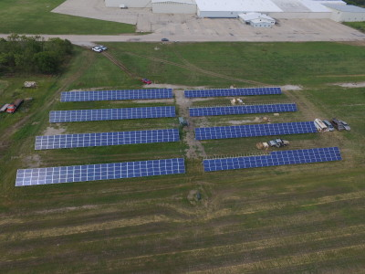 Central City Solar Development. Photo Credit: Cliff Mesner