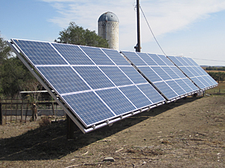 Solar Array on Martin Kleinschmit's Farm