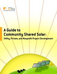 Guide to Community Shared Solar
