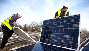 SolarCity has devised an an affordable solar power option for small businesses, allowing them to pay less for solar power than they pay the utility. Photo credit: Flickr