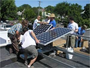 Community Solar Gardens create access to solar for the vast majority of energy users, including low-income households. Photo: Cooperative Energy Futures
