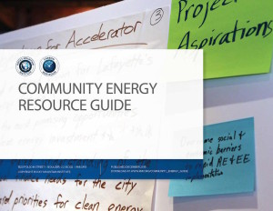 Click image to download the Community Energy Resource Guide (PDF)