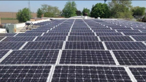 Bennett, Iowa School District's Solar Array (First Phase)