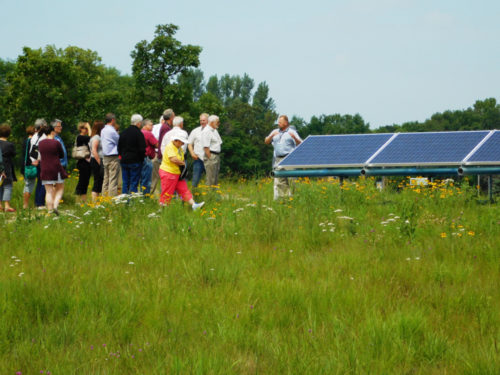 Community solar is one way rural co-ops have sought to reduce emissions while engaging with members. Photo Credit: Clean Energy Resource Teams / Creative Commons