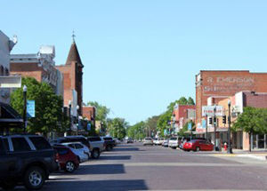 Downtown Lexington, Nebraska