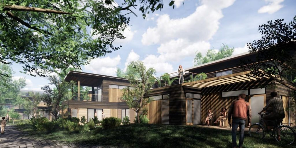6d398baba Virginia students have won the 2019 Solar Decathlon Design Challenge with  their treeHAUS highly sustainable solar+storage+trees+food waste+sound and  so much ...